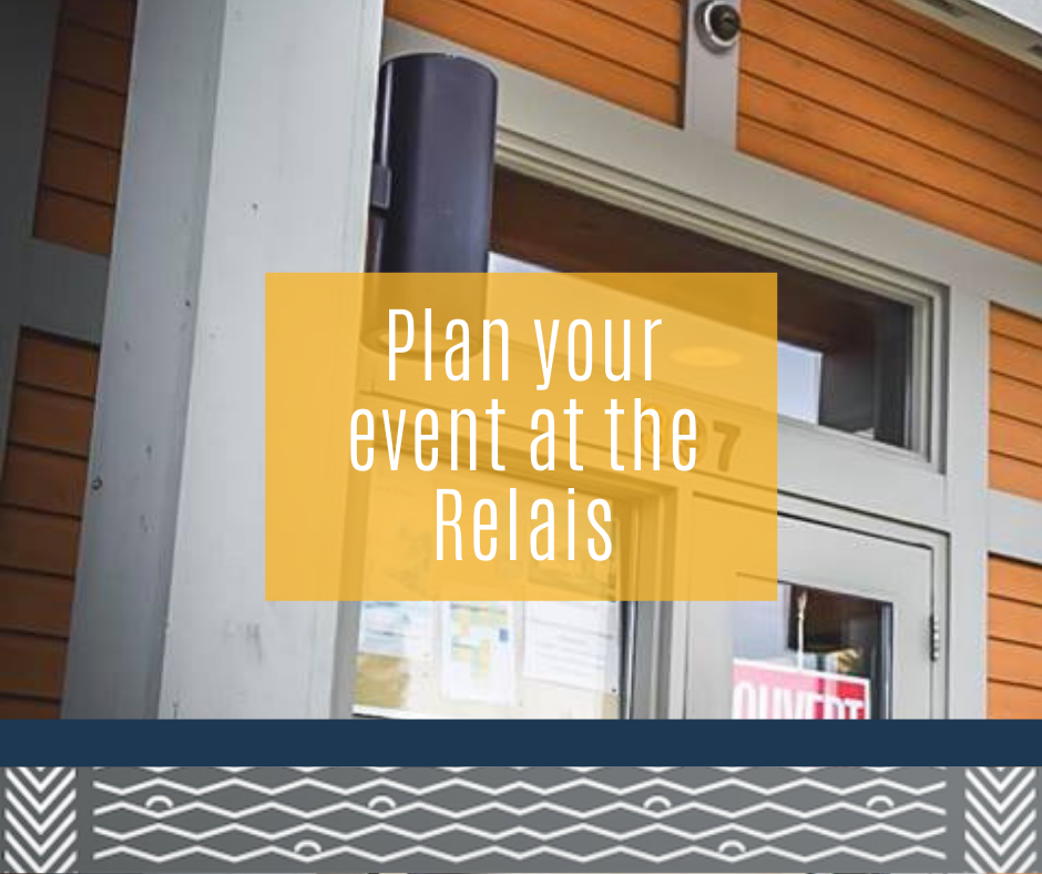 Plan your event at the Relais!